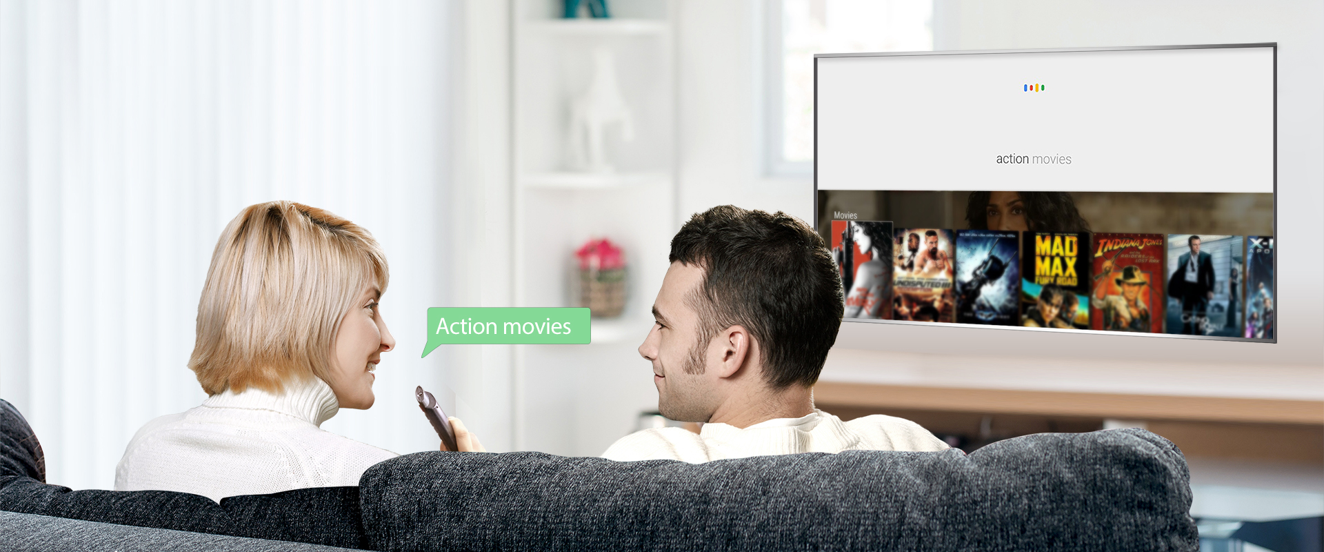 TCL tv Voice Search