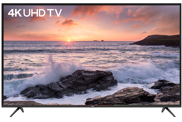 TCL 4K UHD TV P65 front view
