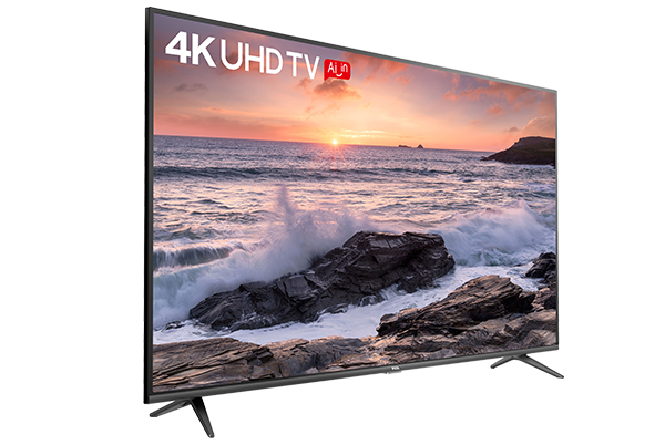 TCL 4K UHD TV P65 left view
