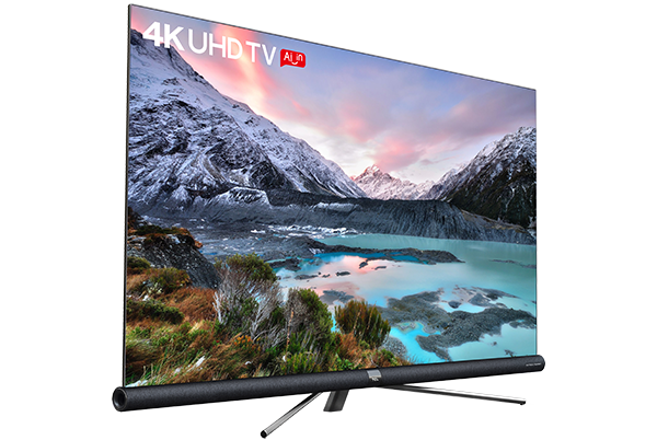 TCL 4K UHD ANDROID TV C6 left view