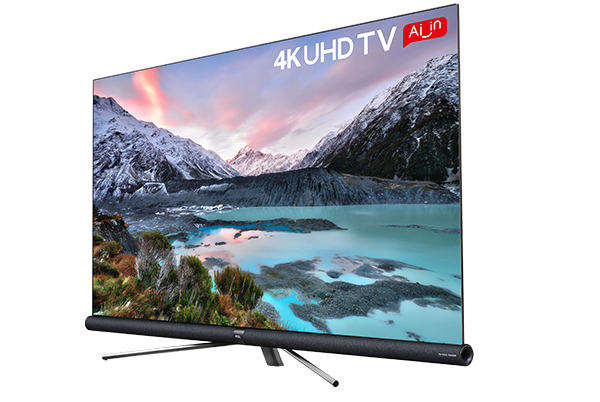 TCL 4K UHD ANDROID TV C6 right view