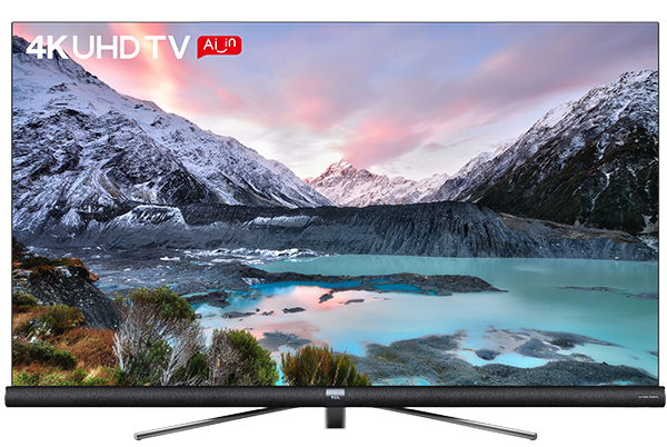 TCL 4K UHD ANDROID TV C6  front view