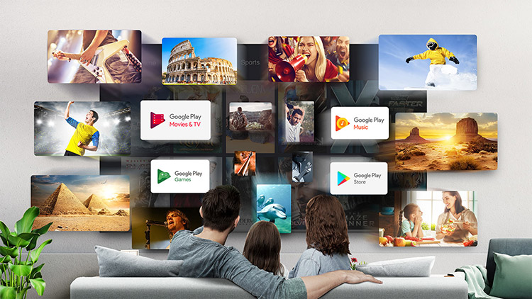 TCL tv The Latest Android OS