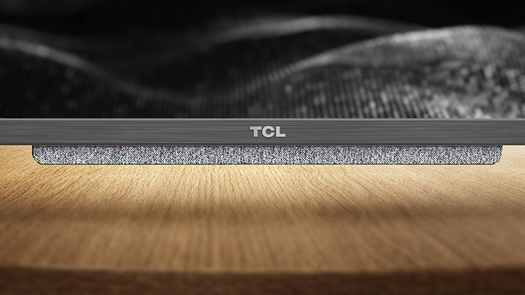 TCL tv Rich and durable acoustic fabric