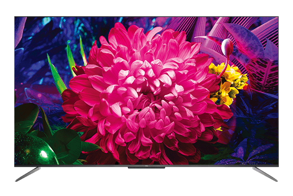 TCL QLED tv c715 front view