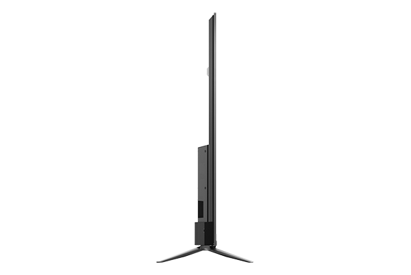 TCL 4K UHD ANDROID TV P715 side left view