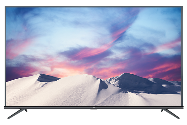 TCL 4K UHD ANDROID TV p8m front view