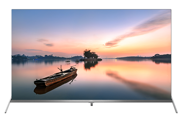 TCL 4K UHD ANDROID TV p8s front view