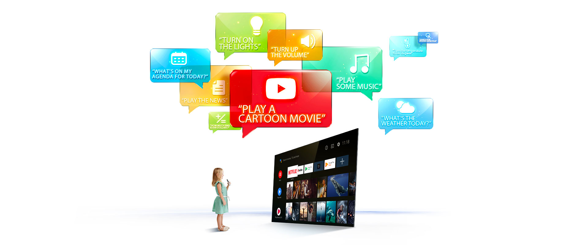 """TCL 40"""" Smart LED Android TV 40S65A 6"""