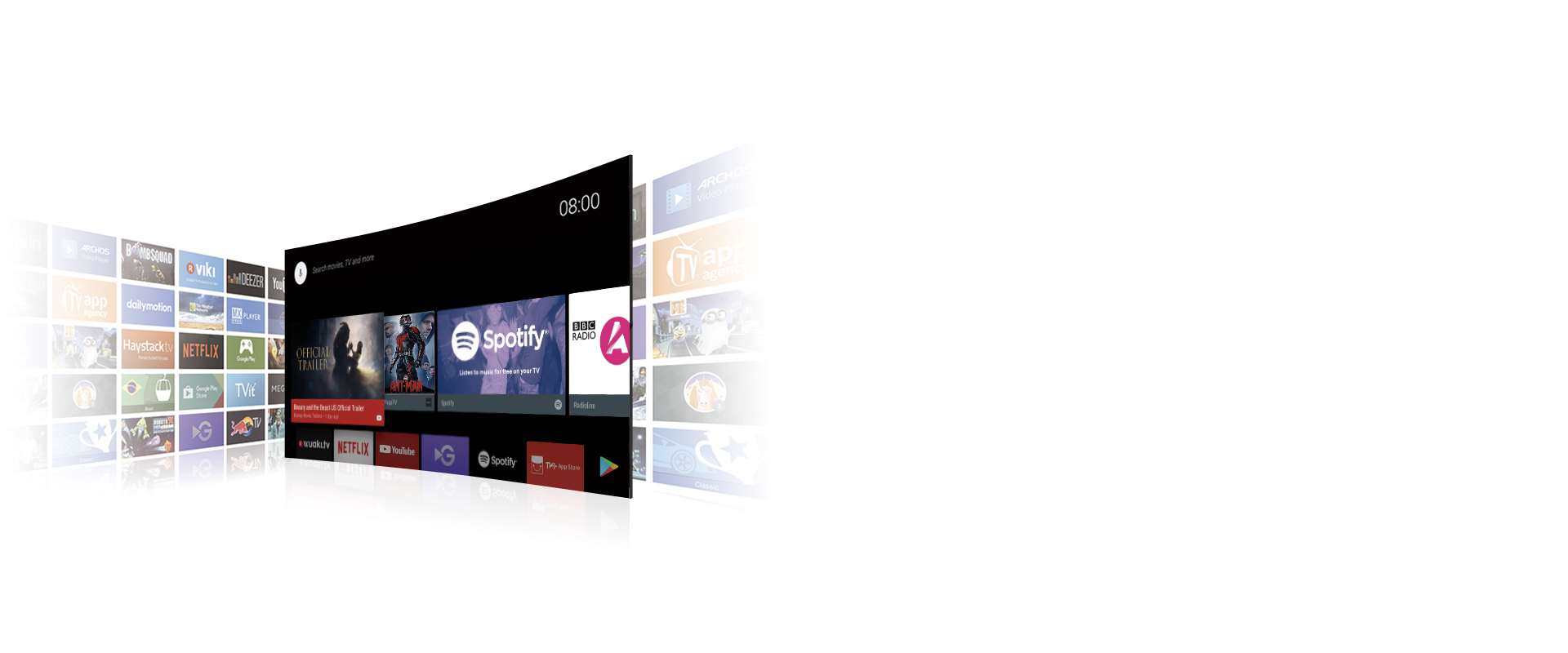 """TCL 40"""" Smart LED Android TV 40S65A 7"""