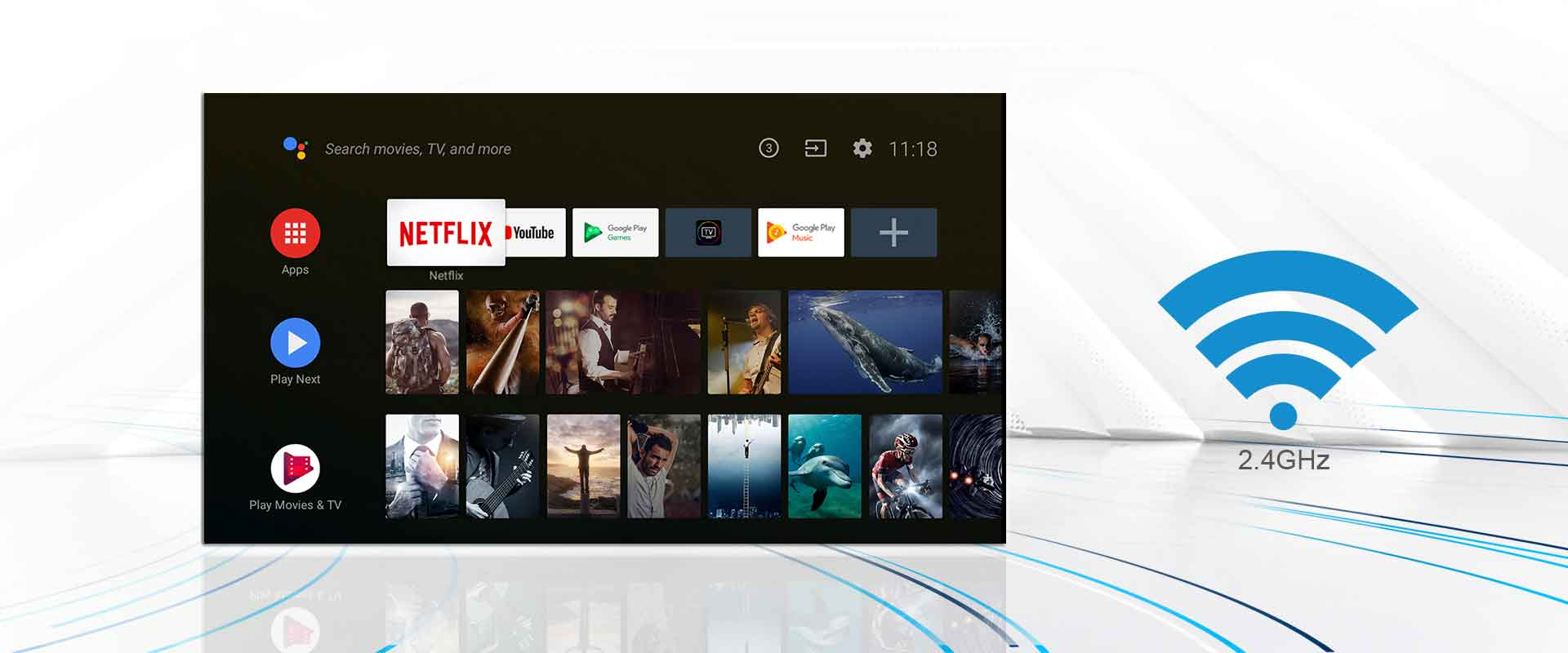 """TCL 40"""" Smart LED Android TV 40S65A 17"""