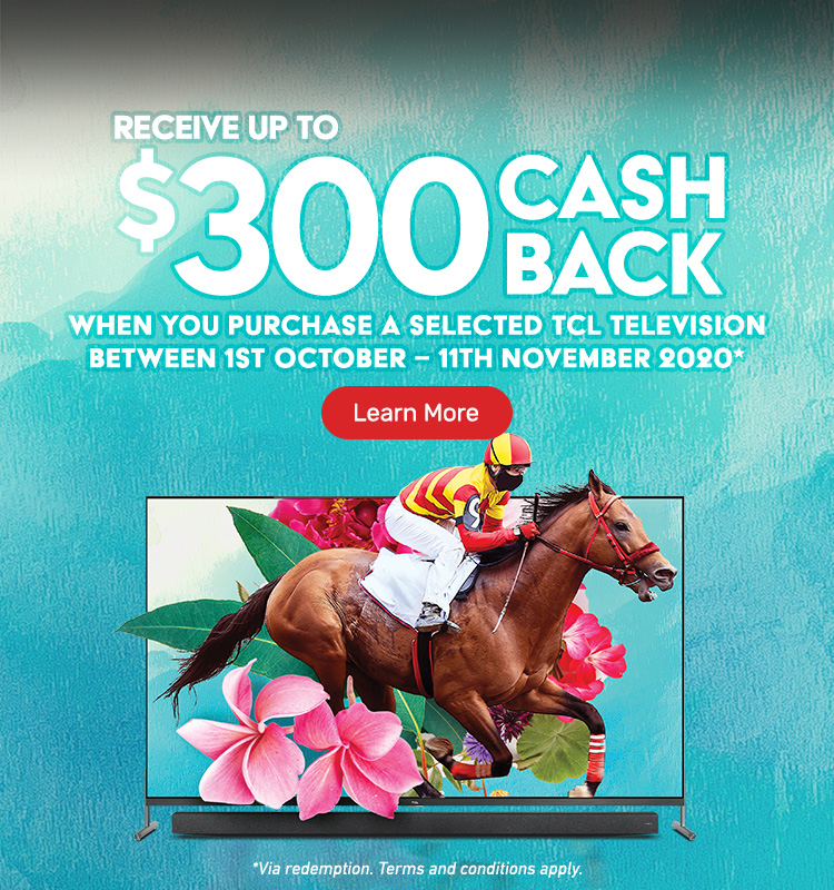 Melbourne Cup Carnival Cash Back