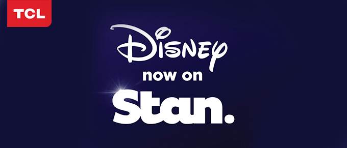 Disney streaming on Stan in Australia