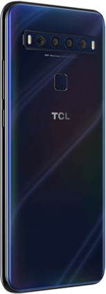 TCL 10 L mariana blue back left