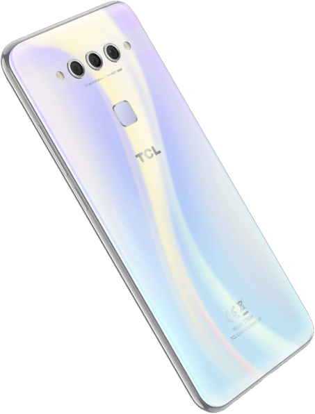 TCL Plex opal white back left