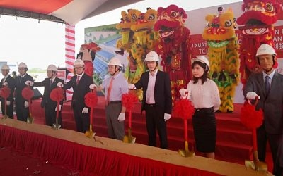 Constructions Starts on New TCL Integrated Manufacturing Base in Vietnam