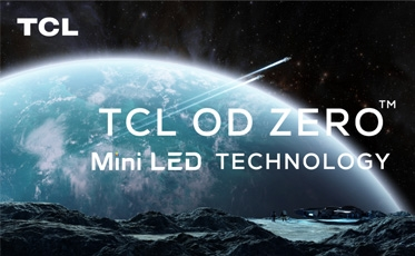 TCL OD Zero mini LED technology on ces 2021