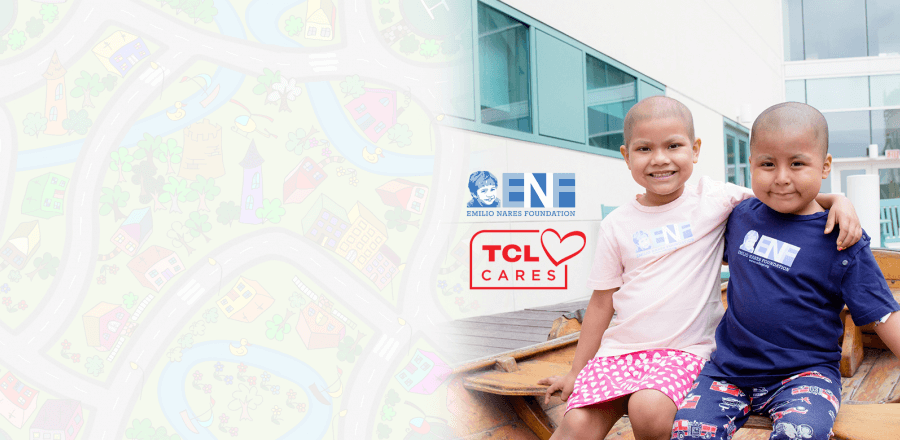 TCL is Proud to Support the Emilio Nares Foundation for Childhood Cancer Awareness Month
