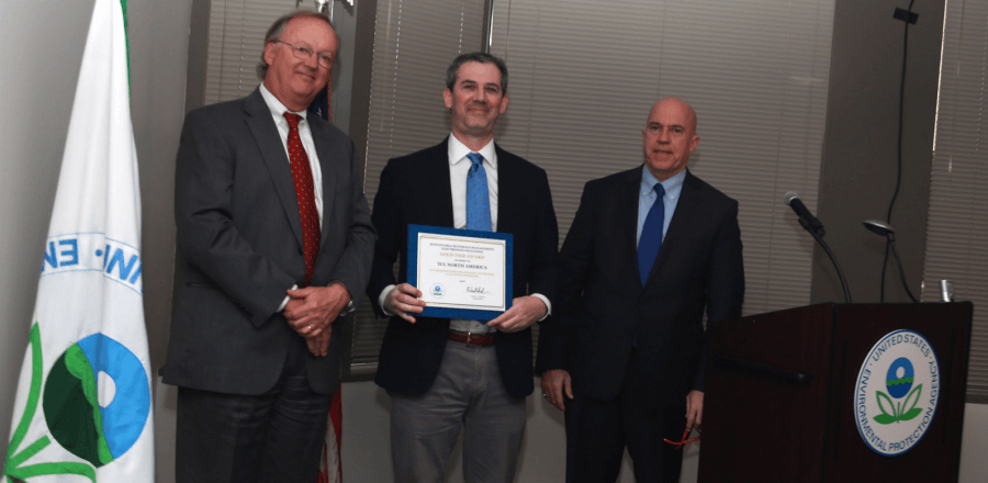 TCL Wins Top Award from U.S. EPA for Sustainability Leadership