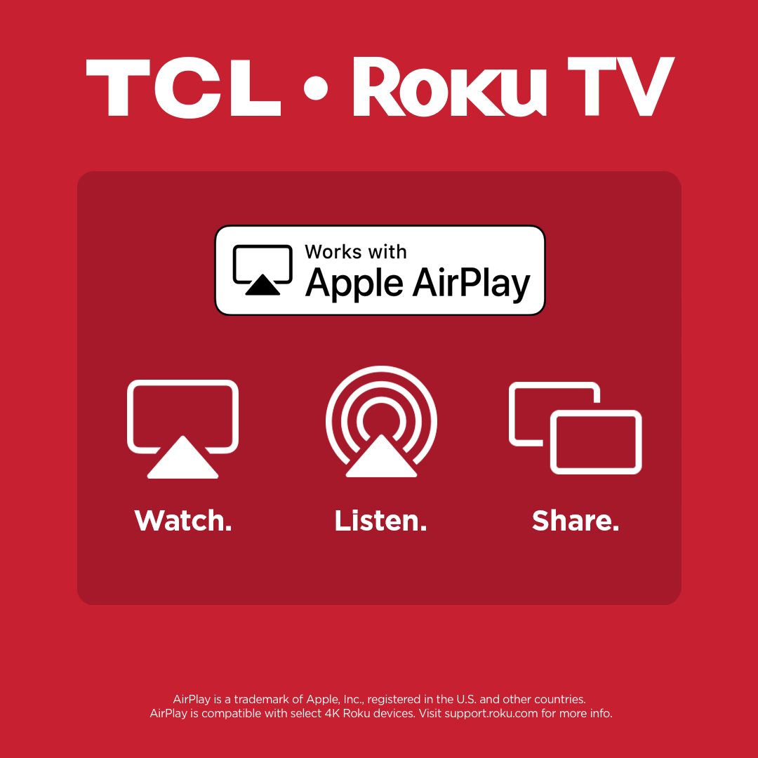 TCL TV with Apple AirPlay