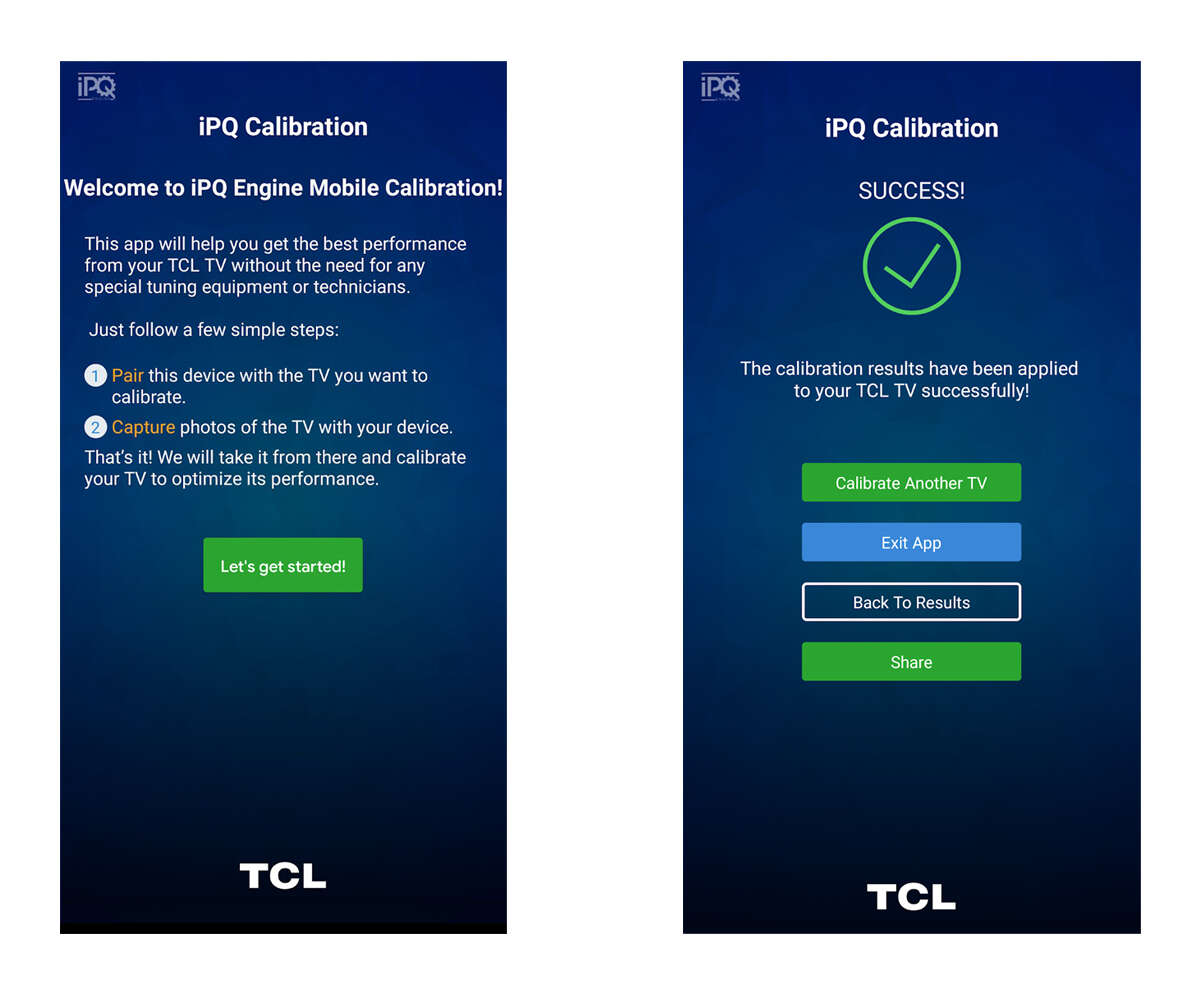 iPQ Mobile Calibration App