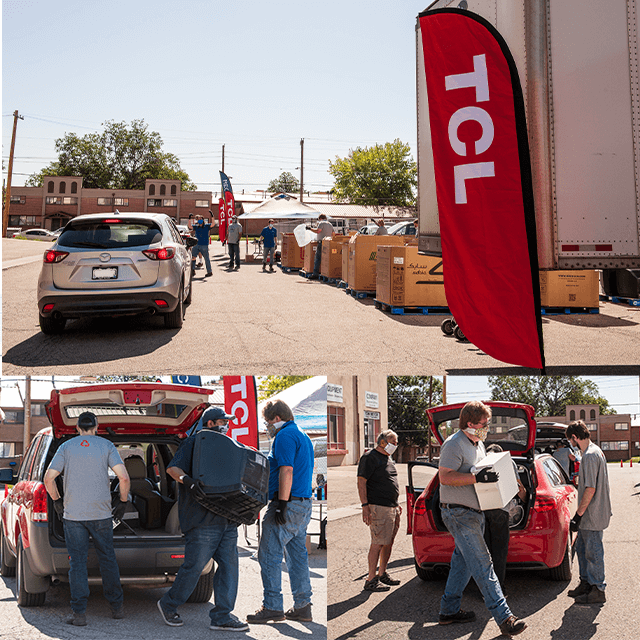 TCL Sponsors First-of-its-kind Recycling Event Collecting 12 Tons in Under Four Hours
