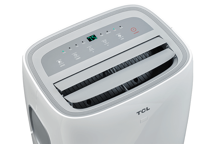 TCL 8,000 BTU Portable Air Conditioner - Top