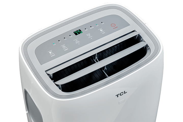 TCL 8,000 BTU Portable Air Conditioner - Top Open