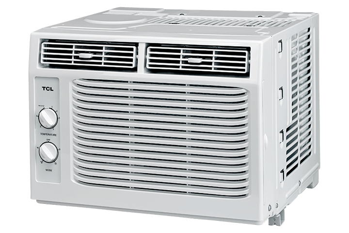 5,000 BTU Window Air Conditioner - Angled