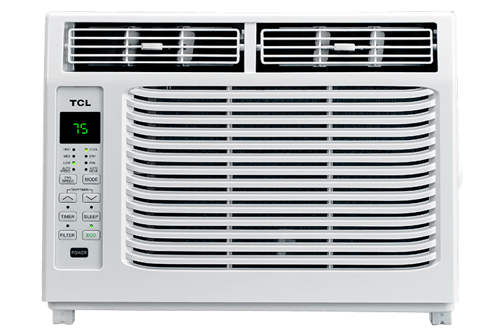 6,000 BTU Window Air Conditioner - Front