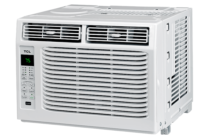 6,000 BTU Window Air Conditioner - Angled