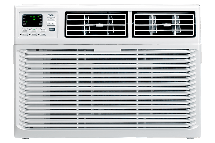 8,000 BTU Window Air Conditioner - Front