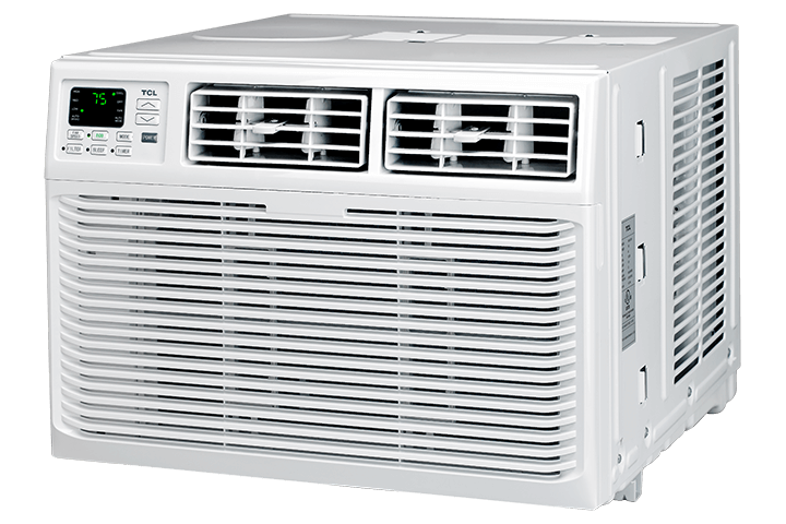 8,000 BTU Window Air Conditioner - Angled