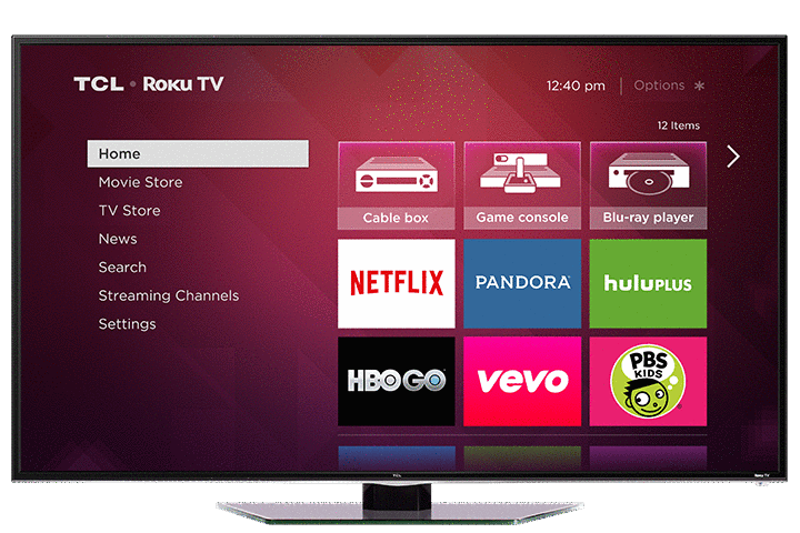 "TCL 40"" S4610R LED HD Roku TV"