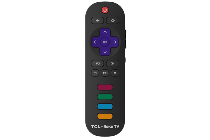 "TCL 55"" US5800 4K UHD LED Roku Smart TV - Remote"