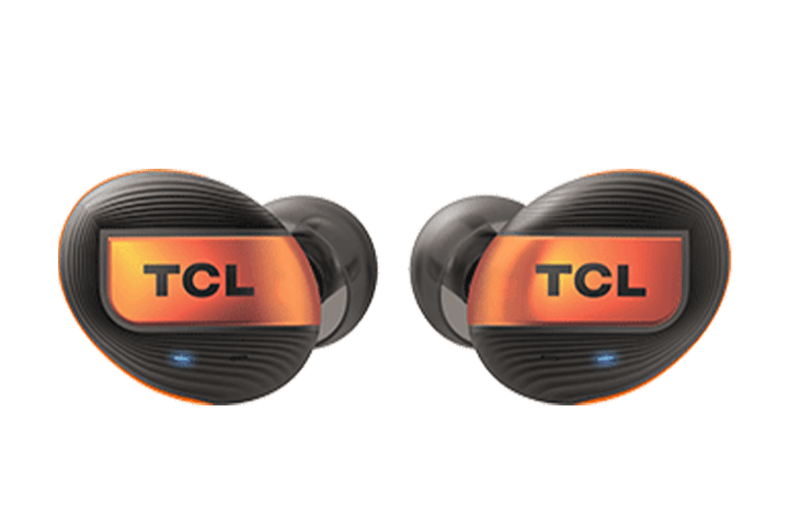 TCL Black True Wireless In-ear Bluetooth Headphones - Headphones Front