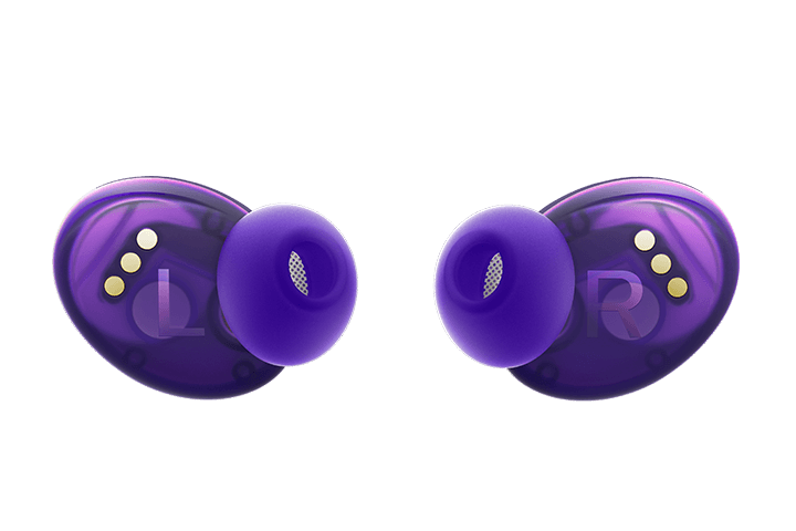 TCL Sunrise Purple True Wireless In-ear Bluetooth Headphones - Headphones Back