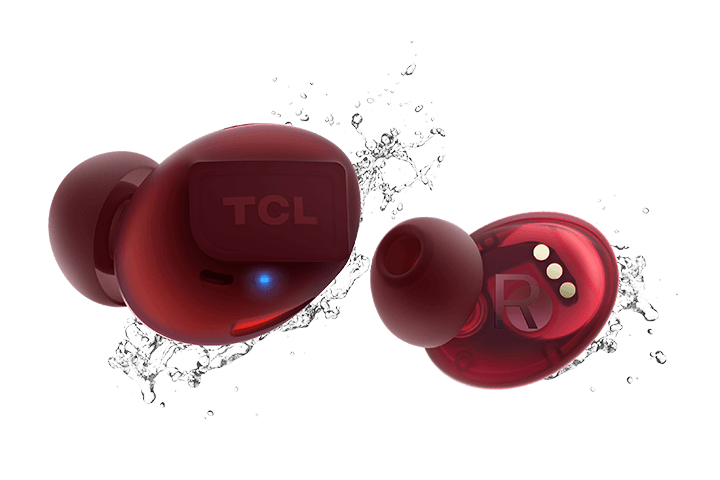 TCL Sunset Orange True Wireless In-ear Bluetooth Headphones - IPX4