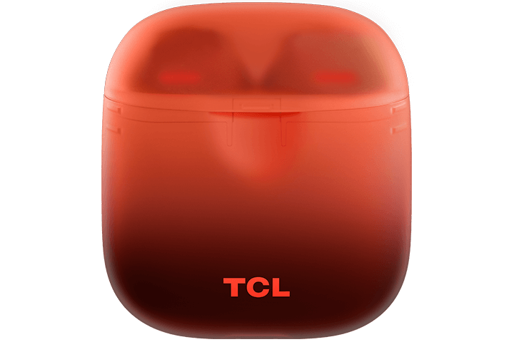 TCL Sunset Orange True Wireless In-ear Bluetooth Headphones - Case Front
