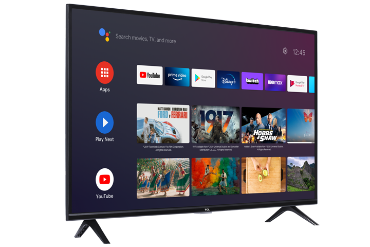"TCL 32"" CLASS 3-SERIES HD LED Android SMART TV - 32S330 Stand"