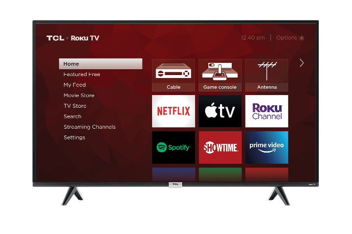 TCL 4-Series front facing