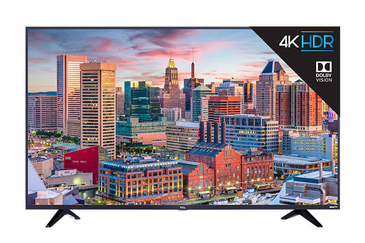"TCL 49"" Class 5-Series 4K UHD Dolby Vision HDR Roku Smart TV - front"