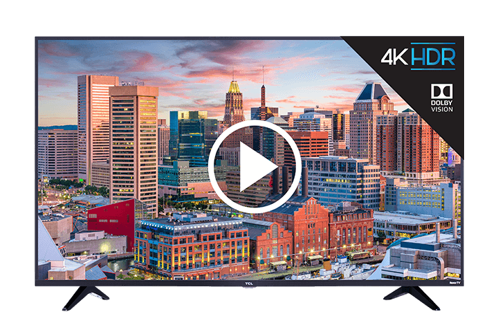 "TCL 49"" Class 5-Series 4K UHD Dolby Vision HDR Roku Smart TV - video"