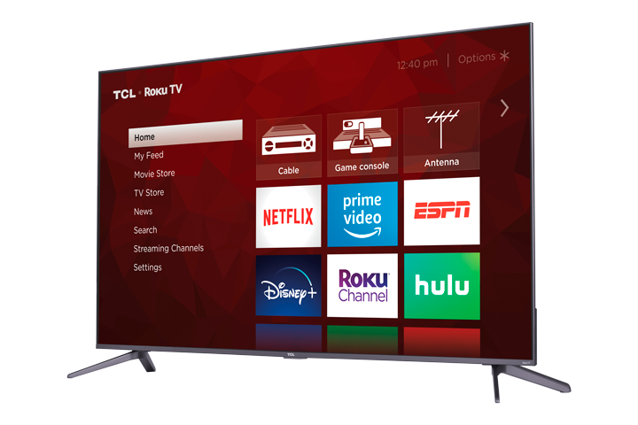 "TCL 50"" Class 5-Series 4K QLED HDR Roku Smart TV"