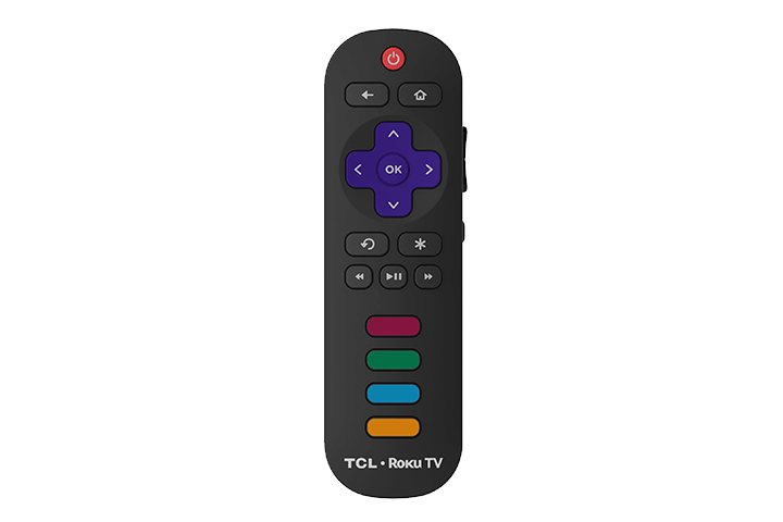 "TCL 49"" Class 5-Series 4K UHD Dolby Vision HDR Roku Smart TV - remote"