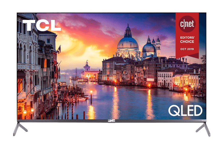 "TCL 55"" Class 6-Series 4K QLED Dolby Vision HDR Roku Smart TV - 55R625"