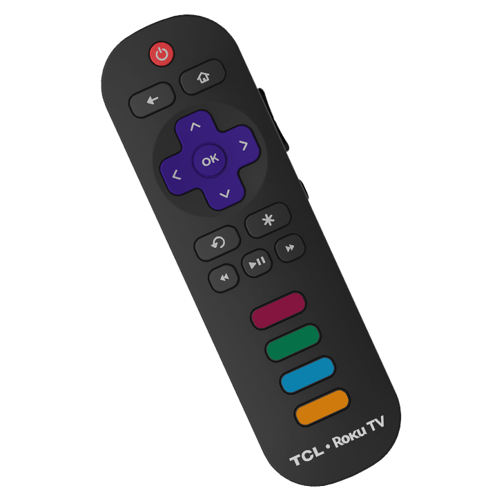 TCL 55C803 Easy to Use Remote