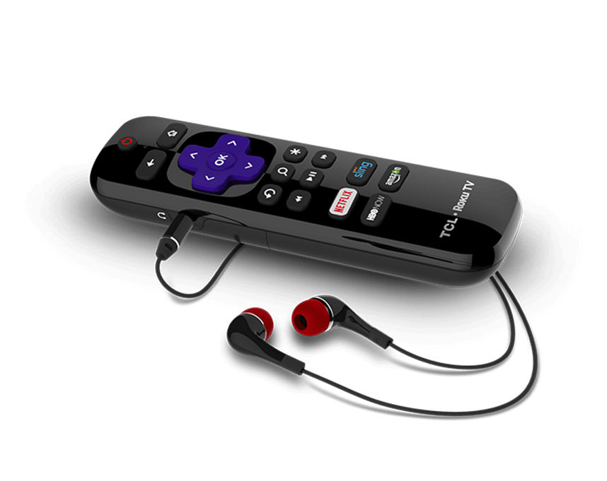 TCL Roku TV C807 Enhanced Remote