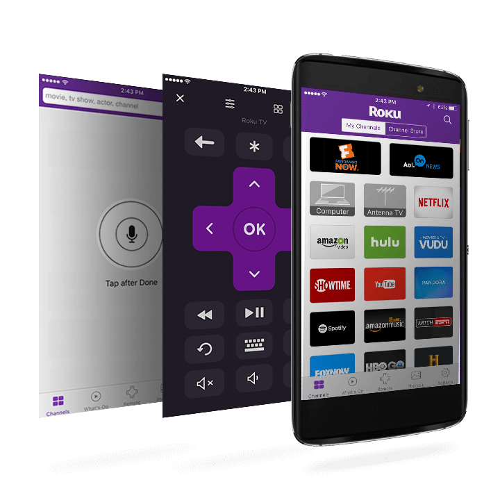 TCL Roku TV Mobile App