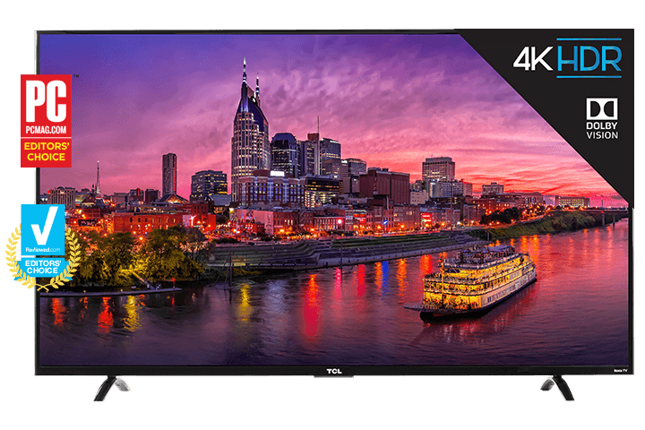"TCL 55"" Class P-Series 4K UHD Dolby Vision HDR Roku Smart TV - 55P607"